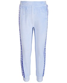 Toddler & Little Girls Velour Taped Sweat Pants, Created for Macy's