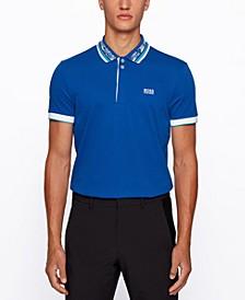 BOSS Men's Paddy Cotton-Pique Polo Shirt