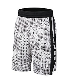 Big Boys Elite Printed Basketball Shorts