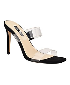 Zarley Women's Heeled Slide Sandals
