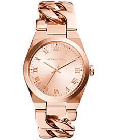Women's Channing Rose Gold-Tone Stainless Steel Bracelet Watch 38mm
