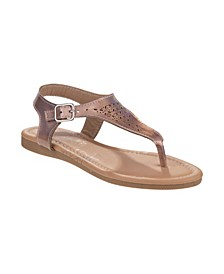 Little Girls Abstract Sandal