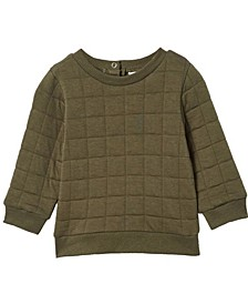 Baby Boys and Girls Scout Quilted Sweater