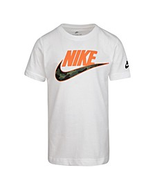 Toddler Boys Swoosh Logo Graphic T-Shirt