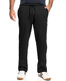 Champion Men's Jersey Open-Bottom Pants