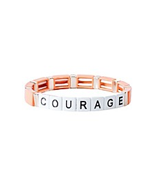 Block Courage Bracelet