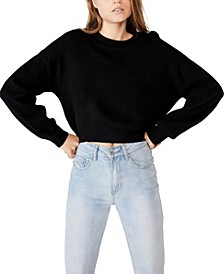 Women's Archy Cropped Pullover Sweatshirt