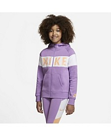 Sportswear Big Girl's Graphic Full-Zip Hoodie