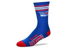 New York Rangers 4 Stripe Deuce Crew Socks