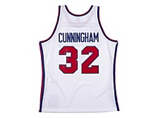 Philadelphia 76ers Billy Cunningham Men's Hardwood Classic Swingman Jersey