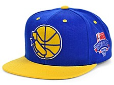 Golden State Warriors Hardwood Classic Lotto Pick Snapback Cap