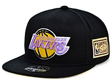Los Angeles Lakers Championship Patch Fitted Cap