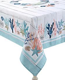 Coastal Reef 70x144 Tablecloth