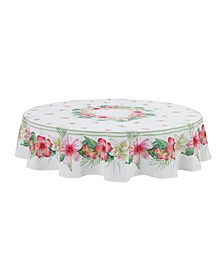 Tropical Island 70 Round Tablecloth