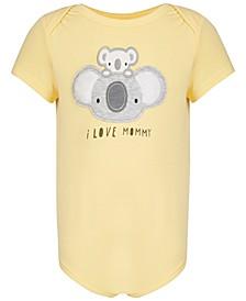 Baby Boys & Baby Girls Mommy Koala Bodysuit, Created for Macy's