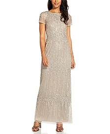Beaded Sheath Dress