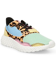 Women's Run Mesh Lace-Up Trainers