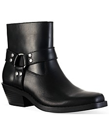 Pheobie Leather Booties, Created for Macy's