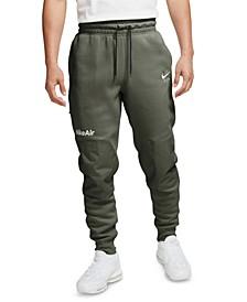 Men's Air Logo Fleece Jogger Pants
