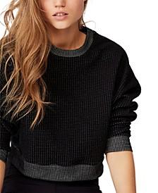 Women's Jacquard Fleece Sweater
