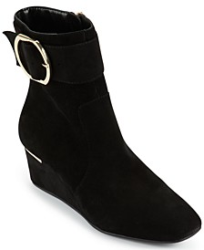 Women's Lucy Buckled Booties