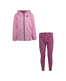 Little Girls Dri-Fit 2 Piece Legging Set