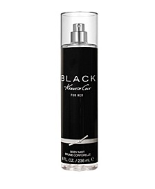 Black For Her Body Mist, 8 oz