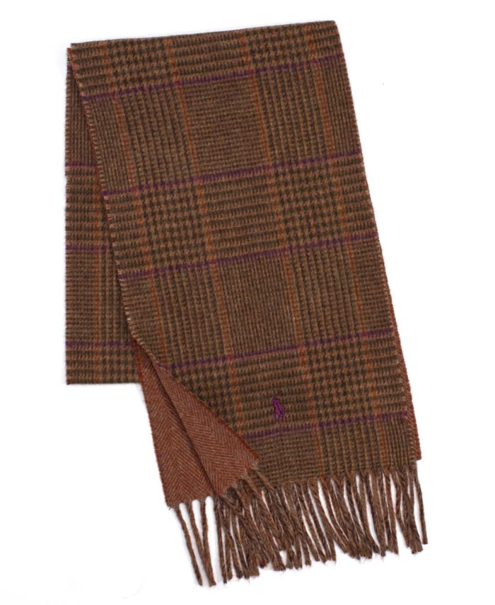 Polo Ralph Lauren Men's Wear Cold Weather Scarf & Reviews - Hats, Gloves & Scarves - Men - Macy's