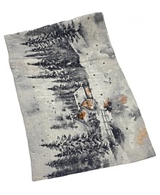 "Winter Landscape Table Runner, 16"" X 72"""