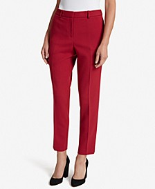 Mid-Rise Ankle Pants