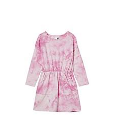 Toddler Girl Sigrid Long Sleeve Dress