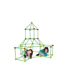 Supersized Glow in The Dark Fort Building Set, 154 Pieces