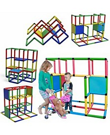 Classic Construction Toy Set, 316 Pieces