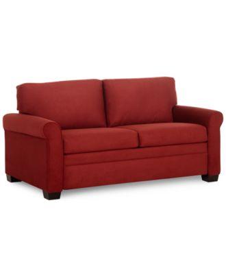 """Kenzey Sofa Bed Full Sleeper 70""""W x 40""""D x 35""""H Furniture Macy s"""