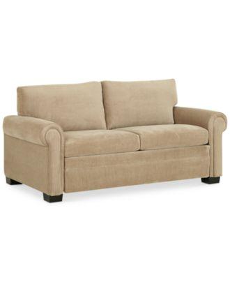 """Radford Sofa Bed Full Sleeper 71""""W x 40""""D x 35""""H Furniture Macy s"""