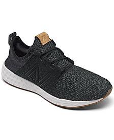 New Balance Men's Fresh Foam Cruzv1 Reissue Slip-On Running Sneakers from Finish Line