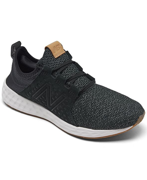 New Balance Men's Fresh Foam Cruzv1 Reissue Slip-On Running Sneakers from Finish Line