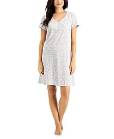 Printed Cotton Sleep Shirt, Created for Macy's