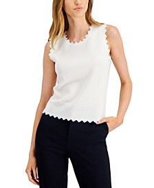 Scalloped Sweater, Created for Macy's