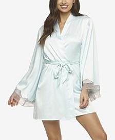 Women's Hazel Satin and Lace Kimono Chemises