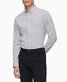 Men's Move 365 Striped Button-Down Shirt