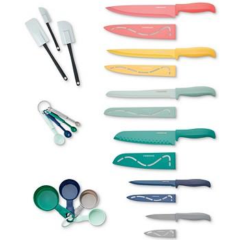 Farberware 23-Pieces Resin Kitchen Cutlery & Gadget Set