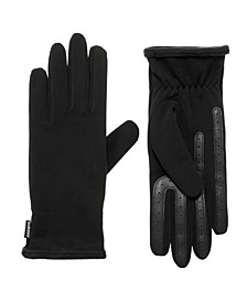 Women's Unlined Water Repellent Elongated Touch Screen Glove