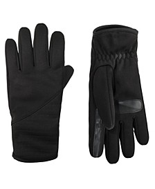 Women's Lined Water Repellent Quilted Pieced Touch Screen Gloves