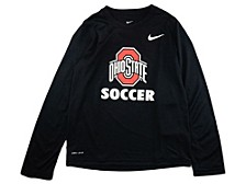 Ohio State Buckeyes Youth Core Soccer Long Sleeve T-Shirt