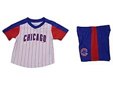 Chicago Cubs Toddler Lineup Short Set