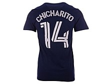 LA Galaxy Men's Authentic Stack Name and Number T-Shirt Chicharito