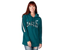 Philadelphia Eagles Women's Double Team Tunic Hoodie