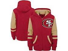 San Francisco 49ers Big Boys Stadium Full-Zip Hoodie