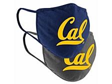 California Golden Bears 2pack Face Mask